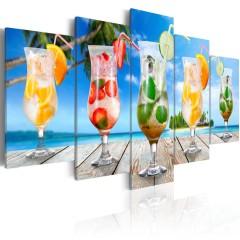 Artgeist Wandbild - Summer drinks