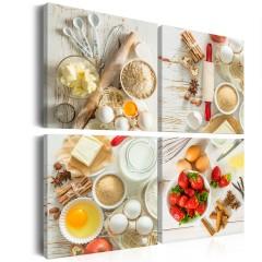 Artgeist Wandbild - Sweet Kitchen