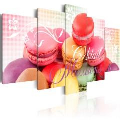Artgeist Wandbild - Sweet macarons