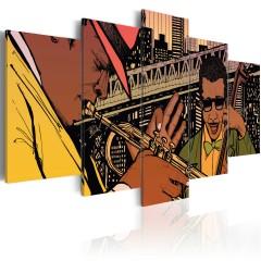 Artgeist Wandbild - Jazz in NYC