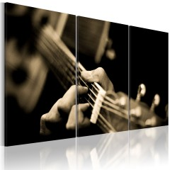 Artgeist Wandbild - Magischer Gitarrenklang