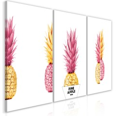 Artgeist Wandbild - Pineapples (Collection)