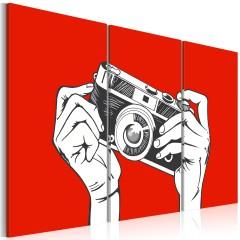 Artgeist Wandbild - A photographer