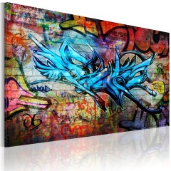 Artgeist Wandbild - Anonymous graffiti