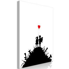 Artgeist Wandbild - Battlefield (1 Part) Vertical