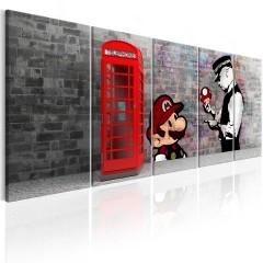 Artgeist Wandbild - Brick Graffiti I
