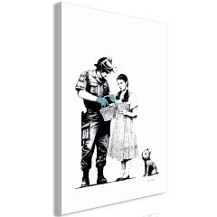 Artgeist Wandbild - Dorothy and Policeman (1 Part) Vertical