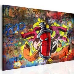 Artgeist Wandbild - Graffiti master