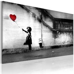 Artgeist Wandbild - Hoffnung (Banksy)