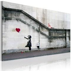 Artgeist Wandbild - Hoffnung gibt es immer (Banksy)