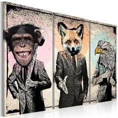 Artgeist Wandbild - Monkey business
