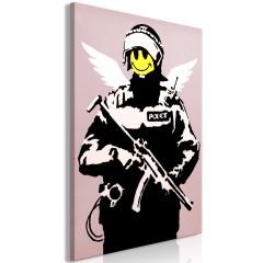 Artgeist Wandbild - Policeman (1 Part) Vertical