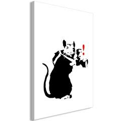Artgeist Wandbild - Rat Photographer (1 Part) Vertical
