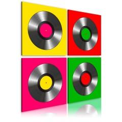 Artgeist Wandbild - Vinylplatten: Pop-Art