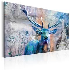 Artgeist Wandbild - Blue Deer