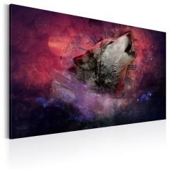 Artgeist Wandbild - Die Zeit der Wölfe