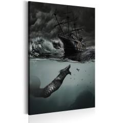 Artgeist Wandbild - Geheimnisse des Ozeans