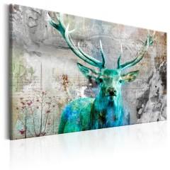 Artgeist Wandbild - Green Deer