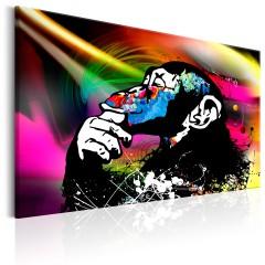 Artgeist Wandbild - Monkey Disco