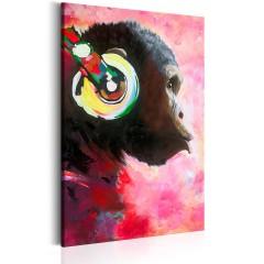 Artgeist Wandbild - Monkey Music