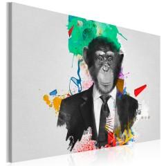 Artgeist Wandbild - Mr Monkey