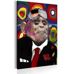 Artgeist Wandbild - Mr. Monkey