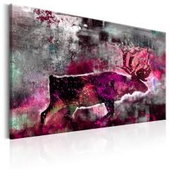 Artgeist Wandbild - Ruby Caribou