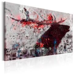 Artgeist Wandbild - Ruby Deer