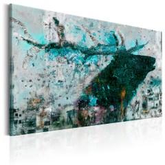 Artgeist Wandbild - Sapphire Deer