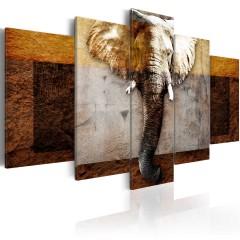 Artgeist Wandbild - Strength of Africa