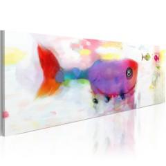 Artgeist Wandbild - Fische der Tiefsee