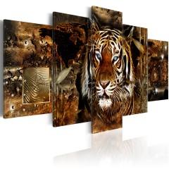 Artgeist Wandbild - Golden Jungle