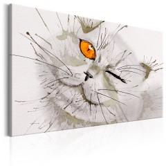Artgeist Wandbild - Grey Cat