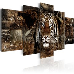 Artgeist Wandbild - Guard of the Jungle