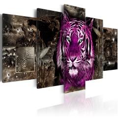 Artgeist Wandbild - Purple King