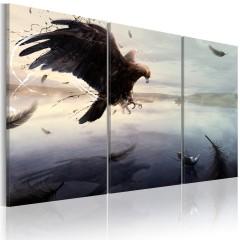 Artgeist Wandbild - Adler am See