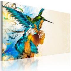 Artgeist Wandbild - Bird's music