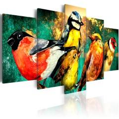Artgeist Wandbild - Birds Meeting