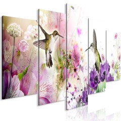 Artgeist Wandbild - Colourful Nature (5 Parts) Wide