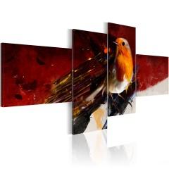 Artgeist Wandbild - Das mit dem Vogel drauf