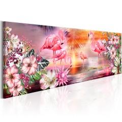 Artgeist Wandbild - Flamingoes Land
