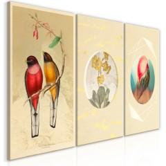 Artgeist Wandbild - Forms in Nature (3 Parts)
