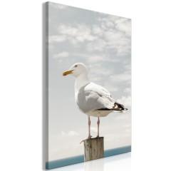 Artgeist Wandbild - Seagull (1 Part) Vertical