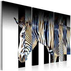 Artgeist Wandbild - Streifen - Triptychon