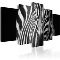 Artgeist Wandbild - Zebra look