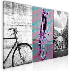 Artgeist Wandbild - Bikes (Collection)