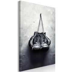 Artgeist Wandbild - Boxing Gloves (1 Part) Vertical