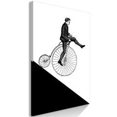 Artgeist Wandbild - Cyclist (1 Part) Vertical