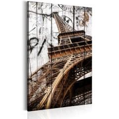 Artgeist Wandbild - Grüße aus Paris
