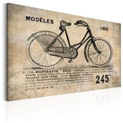 Artgeist Wandbild - N° 1245 - Bicyclette